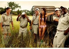 Out of Africa: Ashika Pratt For Vogue india, April 2010.