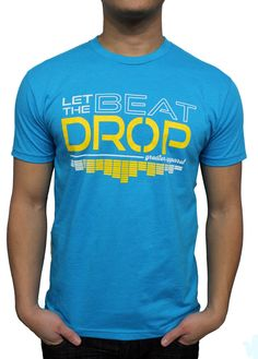 Let The Beat Drop music inspired T-Shirt from Greater Apparel  #music #EDM #rave #beats