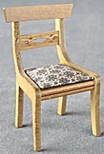 Vintage Wood Dollhouse Chair