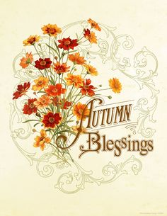 Crafty Secrets Heartwarming Vintage Ideas and Tips: Our Autumn Blessings Free Printable, Linky Party Postponed & News!