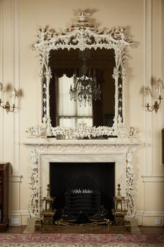 Fireplace Mantle Designs, Chinese Picture, Overmantle Mirror, Light Fittings, Chinoiserie, Art Decor, Decoration, Decor Styles, Interior Design