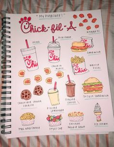 See more of kaleyhoggle's content on VSCO. Bullet Journal Notebook, Bullet Journal Ideas Pages, Bullet Journal Inspiration, Journal Pages, Bullet Journals, Bullet Journal Headers And Banners, Cute Easy Drawings, Bullet Journal Aesthetic, Food Drawing