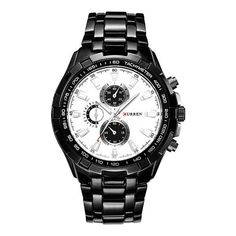 8bff0c76f53 Stainless steel Watch Men Business Casual Watches Waterproof -  Inspirational Clothing and Accessories. Paulo Roberto · Relógios para venda
