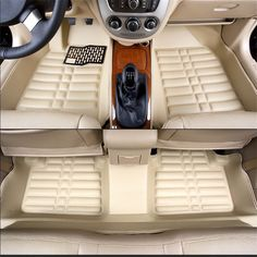Car Floor Mats Covers top grade anti-scratch fire resistant durable waterproof 5D leather mat for Corolla Car-Styling