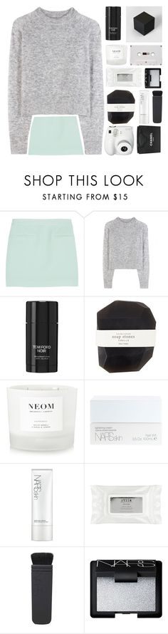 """¤ ezra ¤ tag ¤"" by when-you-listen ❤ liked on Polyvore featuring T By Alexander Wang, Wood Wood, Polaroid, Tom Ford, Pelle, NEOM Organics, NARS Cosmetics, Stila and Chanel"
