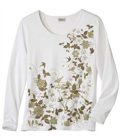 Tee-Shirt Manches Longues #atlasforwomen #atlasformen #avis #discount #livraison #commande #printemps #spring #tee #teeshirt #tshirt