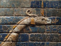The Dragon of the God Marduk. Nebuchadnezzar II (who reigned c.604-562 BC), the king of Babylon, started a series of ambitious building projects including the richly decorated Ishtar Gate (575 BC).