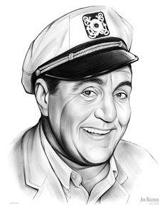 Jim Backus - Sketch of the Day for Wednesday, September 6, 2017  James Gilmore Backus (February 25, 1913 – July 3, 1989) was an American radio, television, film, and voice actor. Among his most famous roles were the voice of nearsighted cartoon character Mr. Magoo, the rich Hubert Updike III on the radio version of The Alan Young Show, Joan Davis' character's husband (a domestic court judge) on TV's I Married Joan, James Dean's character's father in Rebel Without a Cause, and Thurston Howell…