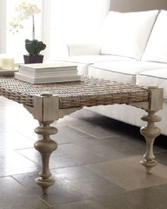 Ezra-Seagrass-Coffee-Table-turned-legs-handwoven-top