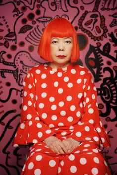 No artist embodies a life of obsession quite like Yayoi Kusama. As a child, she … Sponsored Sponsored No artist embodies a life of obsession quite like Yayoi Kusama. As a child, she began seeing polka dots everywhere she went. Yayoi Kusama, Collage Kunst, Collage Sculpture, Painting Collage, Art Paintings, Body Painting, Tomie Ohtake, Fondation Louis Vuitton, Psychedelic Colors