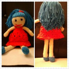 Crochet 12in doll..very easy to make.  For beginners...contact me if interested...$12.00