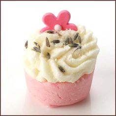Love Buds Bath Mallow 30g, Bath Mallows, £2.09, Bomb Cosmetics. Finest Handmade Aromatherapy Cosmetics & Soaps