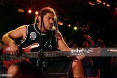 Robert Trujillo of Metallica performs onstage during 'The Concert For Valor' at The National Mall on November 2014 in Washington, DC. Ron Mcgovney, Robert Trujillo, Dave Mustaine, Kirk Hammett, National Mall, James Hetfield, Metallica, Concert, Image