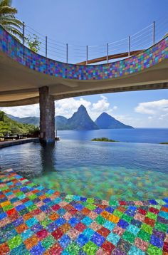 Jade Mountain Resort in St. Lucia   Hotels in Heaven - The most amazing, unique and beautiful #Hotels in the world #travel #beach