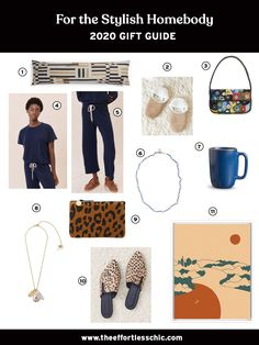 Our 2020 Gift Ideas for the Stylish Homebody — Slippers, Jewelry, Wallets, Art and More! Find More Gift Guides at TheEffortlessChic.com