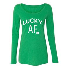 Lucky Af Long Sleeve Shirt Lucky Af Tank Irish Shirt My Lucky Charms Shirt Shake Your Shamrocks Shirt Ill Shamrock Your World Shirt