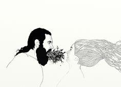 """Santi Jiménez """"Húmedas y verdes blasfemias"""", 2011"""