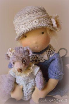 Myrtle & her Molly Bear