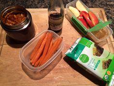 Kid's Lunchbox Elk Meatballs in Marinara with Roasted Carrots