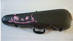 black new 4/4 violin  carbon fiber case large advanced #Affiliate