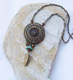 Beaded Dangle Earrings Boho Dangle Earrings Bead Embroidery