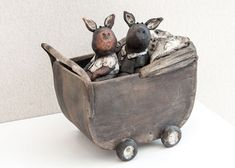 Ceramic Animals, Ceramic Pottery, Planer, Biscuit, Whimsical, Sculptures, Clay, Film, Google