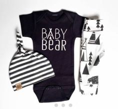 Baby bear onesie.cute baby boy clothes Love it! checkout www.sweetpeadeals.com for more baby clothes and Items up to 80% OFF!