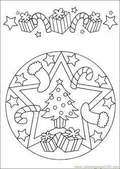 Mandala 62 Coloring Page