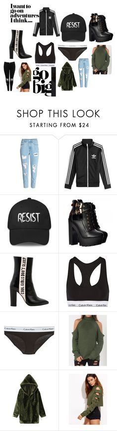Assi by lauronen-jaana on Polyvore featuring Havva, adidas, WithChic, Boohoo, Calvin Klein Underwear, H&M, men's fashion, menswear and polyvoreeditorial