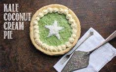 Coconut Cream Kale Pie