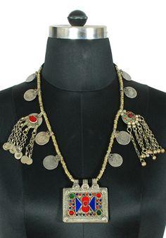Antique Afghan Necklace Design 4 – Desically Ethnic