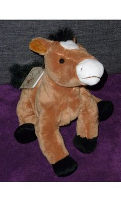 doudou cheval poney teddykompaniet www.doudoupeluche.fr