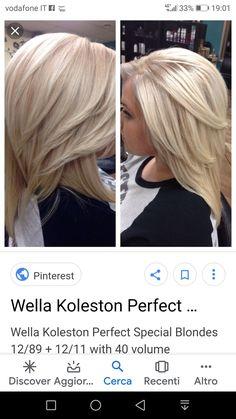 Wella Koleston Perfect, Color Correction Hair, Hair Color Formulas, Hair Toner, Blonde Hair Looks, Hair Color Techniques, Hair Color And Cut, Hair Color Highlights, Coloured Hair