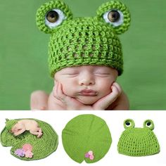 d6fd6e42292 Buy New Born Clothes Romper Animal Design Baby Girl Knit Hat Photo Prop  Outfits AP at Wish - Shopping Made Fun