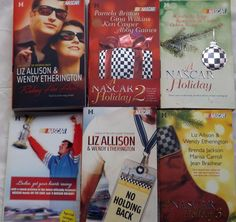 Lot 6 Harlequin Romance Books NASCAR Holiday Allison Etherington Britton Book