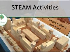 STEAM activities for the Early Childhood Classroom
