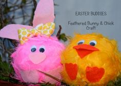 Feathery Easter Friends