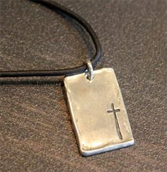 Simply Him Large Cross Pendant – ChristianGiftsPlace.com Online Store