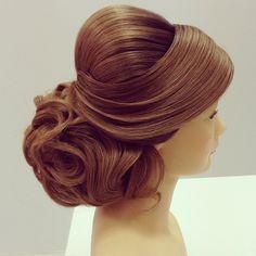 georgiykot hairstyle | ... on Pinterest | Ballroom Hair, Wedding hairstyles and Black Weddings