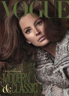 Christy Turlington for Vogue Magazine