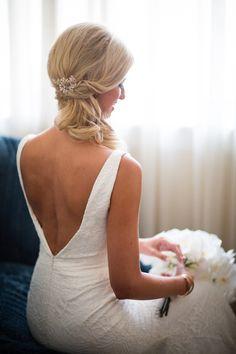 wedding hairstyle; photo: Asya Photography