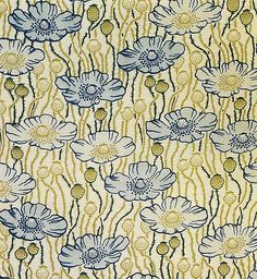 fad209d257  Poppyland  textile design by Liberty