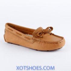 Ugg Womans Meena Chestnut Driving Loafer
