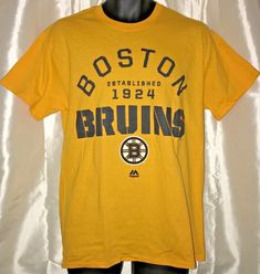 BOSTON BRUINS REEBOK CENTER ICE POLYESTER S//S T SHIRT MEN/'S L XL 2X BLACK NWT