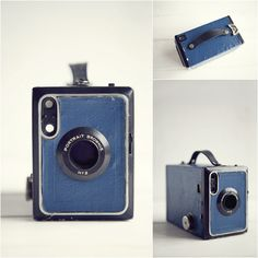 Vintage Kodak Brownie Camera (Brownie No 2 Model F)  |  This model F version was manufactured in Great Britain from 1924 through to 1933.
