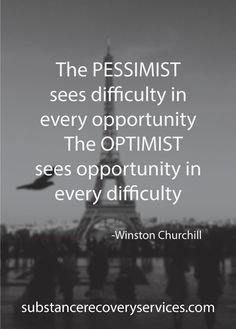 Are you a Pessimist or Optimist?  Follow: https://www.pinterest.com/SubstanceAR/
