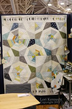 Quilt Market 2015 - Lori Kennedy's photo of a Jennifer Sampou quilt