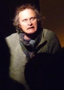 Simon Munnery performing in London, 2014