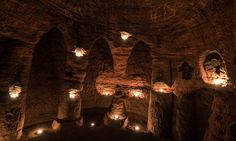 700-year-old Shropshire labyrinth known as Caynton Caves held secret Knights Templar cult rituals (Daily Mail 9 March 2017)