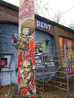 streetart, berlin, kunst, graffiti, street art, mural, wandbild, el bocho, little lucy